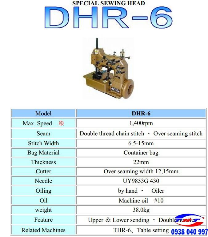MÁY VẮT BAO TẢI HÀNG CONTAINER NEWLONG NLI DHR-6